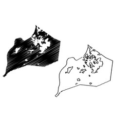 Louisville city map vector