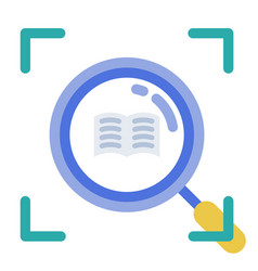Micro learning flat vector