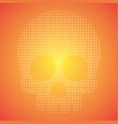 pop art halloween background and texture good for vector image