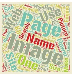 SEO For Images On Web Sites text background vector