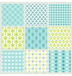 spring floral patterns vector image
