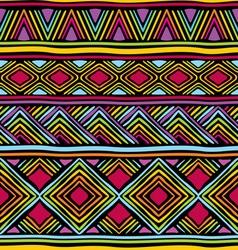 afrikan line pattern vector image