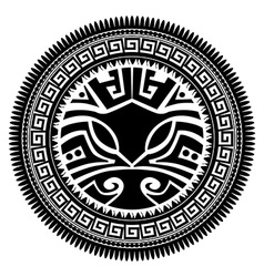 Polynesian tattoo vector image vector image