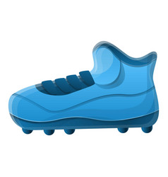 American football shoe spike icon cartoon style vector