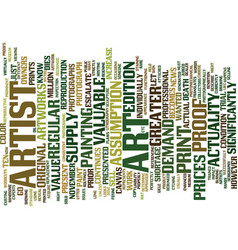 Art myths debunked text background word cloud vector