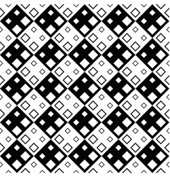 geometrical black and white diagonal square vector image