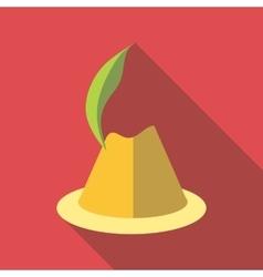 Irish hat icon flat style vector