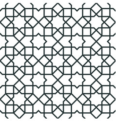 Morocco arabic seamless pattern vector