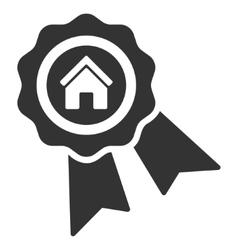 Realty Award Flat Icon vector