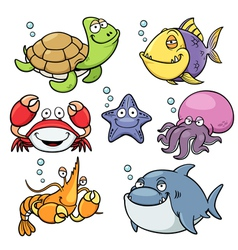 Sea animal vector image