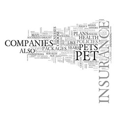 What you must know about pet health insurance vector