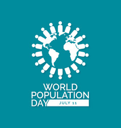World population day vector