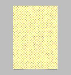 Yellow star shape pattern background brochure vector