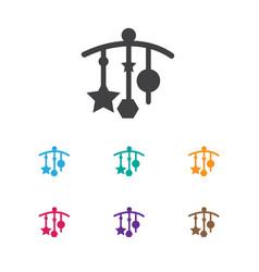 of kid symbol on decoration vector image