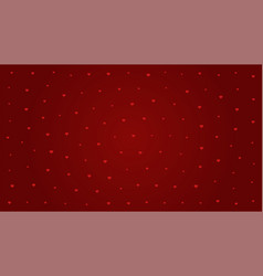 pattern heart on red background for valentines day vector image vector image