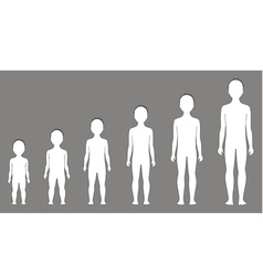 Child figure vector image vector image