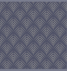 abstract cone dark blue seamless pattern vector image