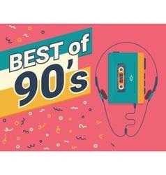 Best of 90s vector