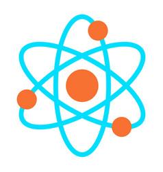 dynamic atom molecule science symbol icon vector image