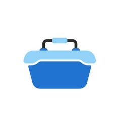 food container like ice cooler icon vector image