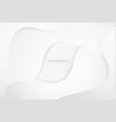 Modern and creative white geometric background vector