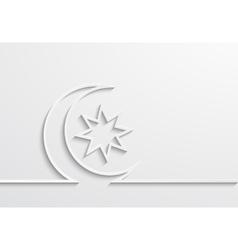 modern ramadan background design vector image