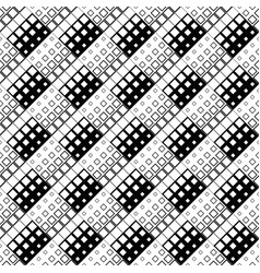 monochrome abstract diagonal square pattern vector image
