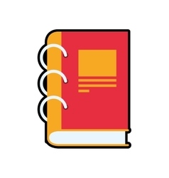 Notebook icon Class design graphic vector