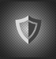 shield icon security protection icon vector image