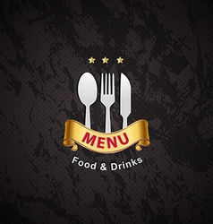 cover restaurant menu designs vector image vector image