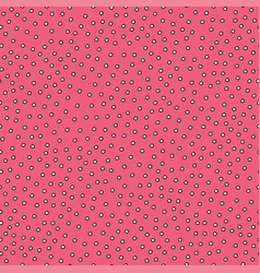 seamless simple pattern with circles vector image vector image