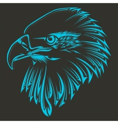 Bird tribal tattoo vector image
