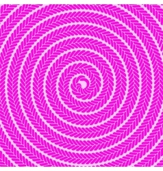 Abstract Pink Spiral Pattern vector image