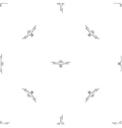 aerial drone pattern seamless vector image