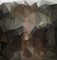 Anthracite dark brown black polygonal triangular vector