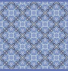 Azulejos tile seamless pattern vector