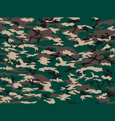 Cover camouflage green vector