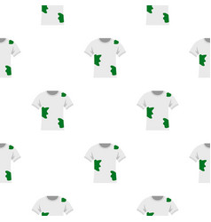 Dirty shirt pattern flat vector