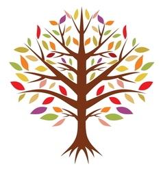 Drvo godisnje doba vector image
