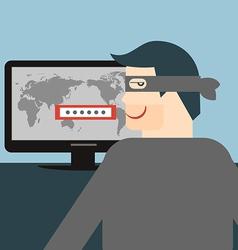 Hacker vector