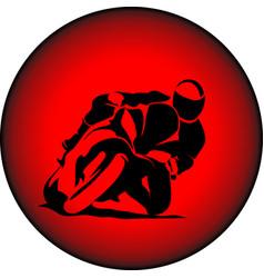 Motorbiker sport vector