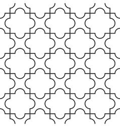 Ornamental arabic seamless pattern vector