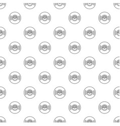 vinyl record pattern seamless vector image