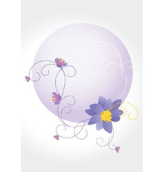 violet round Converted vector image