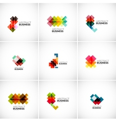 Company logo branding elements vector image