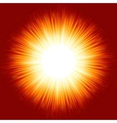 Light burst Background vector image vector image