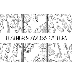 Vintage seamless hand sketched Doodle Pattern vector image vector image