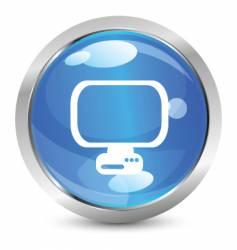 digital icon vector image vector image