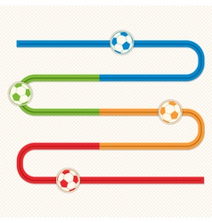 football button s bend slider vector image vector image