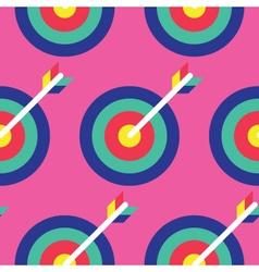 Seamless Archery Pattern Archery Pattern vector image vector image